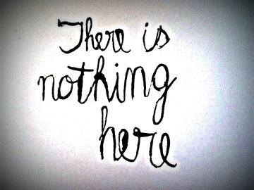 There is nothing here (still)